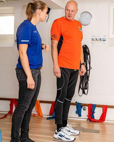 GLA:D træning hos Næstved Rygcenter