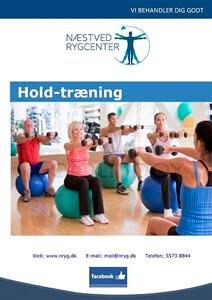 Hold-træning - Næstved Rygcenter