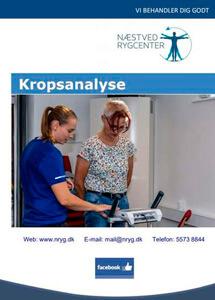 Kropsanalyse - Næstved Rygcenter