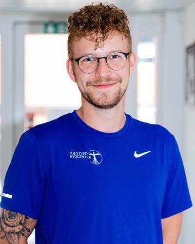 Sebastian Emil Madsen - Aut. fysioterapeut - Næstved Rygcenter