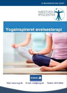 Yoga folder - Næstved Rygcenter